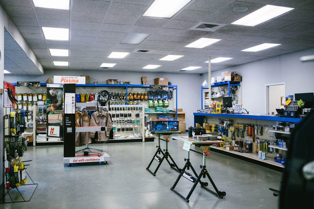 Sidney Lee Welding Supply keeps a large inventory of welding alloys and cutting tools that are ideal for maintenance and repair jobs.